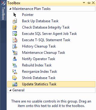 Панель инструментов Планов обслуживания